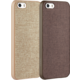Аксессуар для iPhone Ozaki O!coat Canvas 2 in 1 Brown and Khaki (OC590BK) for iPhone SE/5S