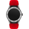 TAG Heuer Connected Modular 45 Red Rubber with Steel Bezel