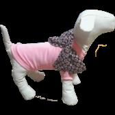 Футболка для собак Dogs Bomba с бантом Y-41 Размер 2 Розовый