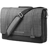 "fa38d524e736 Сумка для ноутбуков HP 15.6"" Slim Ultrabook Messenger Black / Gray ..."