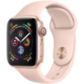 Watch Apple Watch Series 4 40mm GPS Gold Aluminum Case with Pink Sand Sport  Band ( 0bf5b4c6266a6