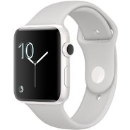 Apple Watch Series 2 Edition 42mm White Ceramic Case with Cloud Sport Band (MNPQ2)