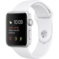 Watch Apple Watch Series 1 38mm Silver Aluminum Case with White Sport Band (MNNG2)