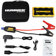 Hummer H2 Jump Starter + Power Bank + LED фонарь