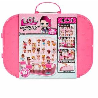 Игровой набор с эксклюзивной куклой L.O.L. SURPRISE! – ПОКАЗ МОД (ярко-розовый) (562689)