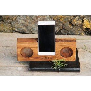 Аксессуар EcoWalnut Усилитель звука для смартфона