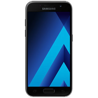 Смартфон Samsung Galaxy A3 2017 Black A320F/DS (UA UCRF)