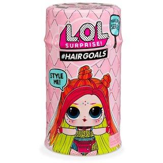"""Игровой набор с куклой L.O.L. S5 W2 серии """"Hairgoals"""" - МОДНОЕ ПЕРЕВОПЛОЩЕНИЕ (в ассорт., в дисплее) (556220-W2)"""