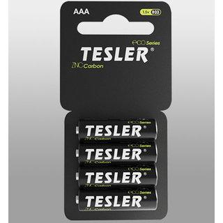 Батарейка Tesler Zinc Carbon AAА (цена за упаковку 4 шт)