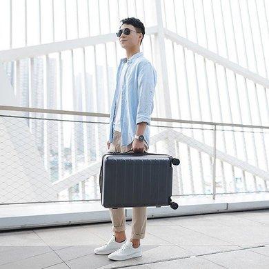 Гаджет для дома Чемодан Xiaomi RunMi 90 Points Suitcase Business Travel  Lake Light Blue 20 quot  d4e84ed0f9a