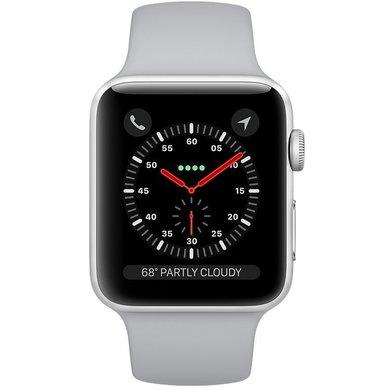 Watch Apple Watch Series 3 42mm GPS Silver Aluminum Case with Fog Sport  Band (MQL02 d2f20d549e31c
