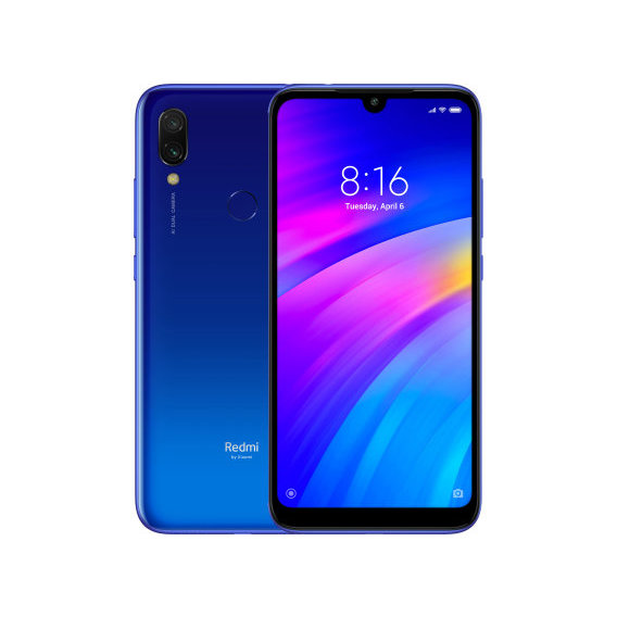 Смартфон Xiaomi Redmi 7 2/16GB Comet Blue (Global)