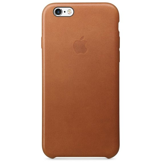 Аксессуар для iPhone Apple Leather Case Saddle Brown (MKXT2ZM/A) for iPhone 6s