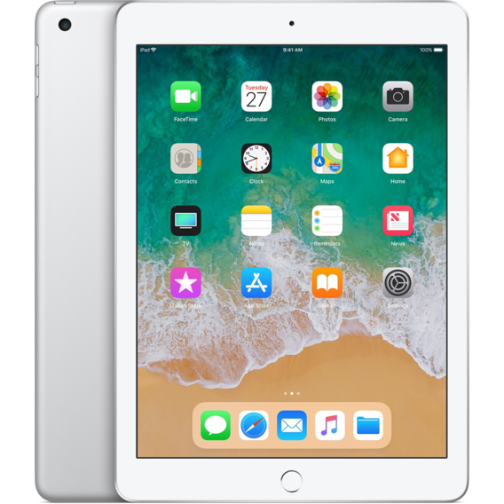 Планшет Apple iPad Wi-Fi 32GB Silver (MR7G2) 2018