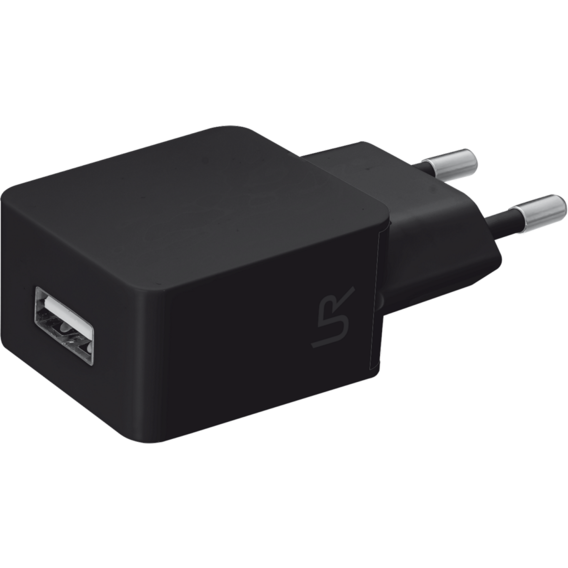Зарядное устройство Trust USB Wall Charger 1A Urban Smart Black (20143)