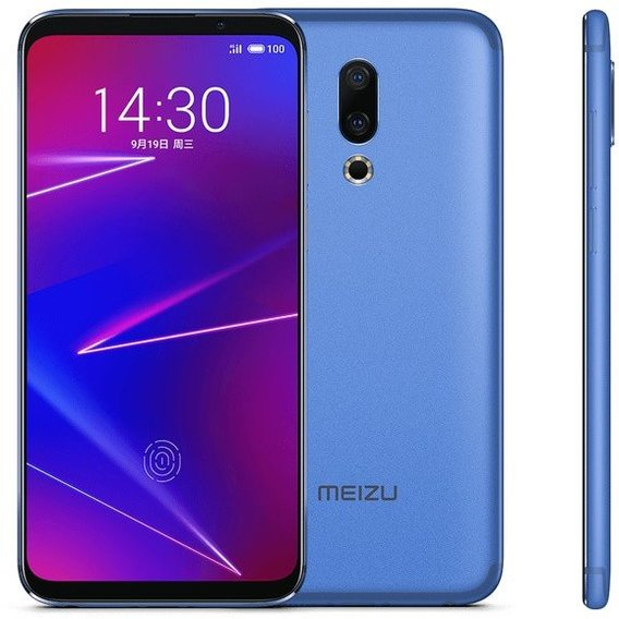 Смартфон Meizu 16X 6/64Gb Dual Blue