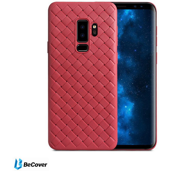 Аксессуар для смартфона BeCover Leather Case Red for Samsung G965 Galaxy S9+ (702311)