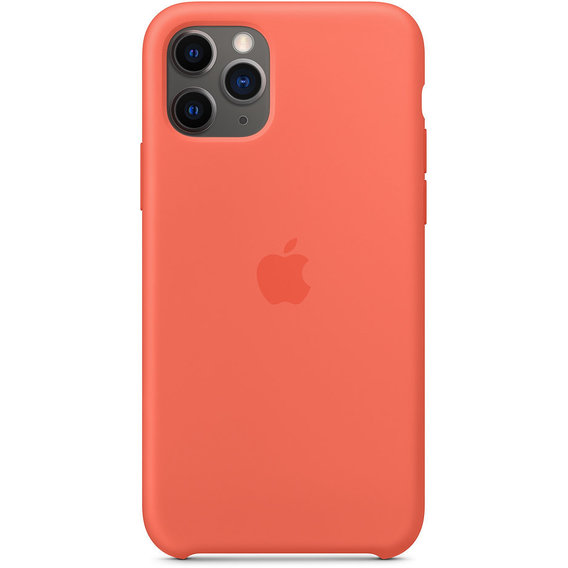Аксессуар для iPhone Apple Silicone Case Clementine (Orange) (MWYQ2) for iPhone 11 Pro