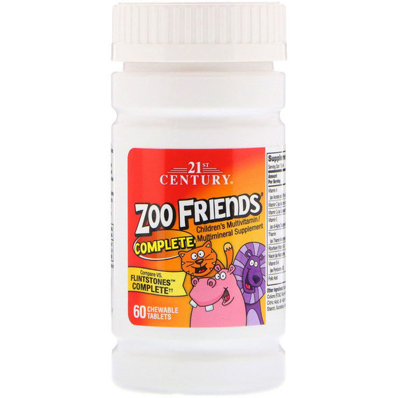 21st Century Zoo Friends Complete 60tabl