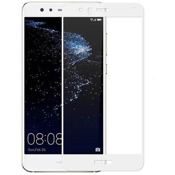 Аксессуар для смартфона Tempered Glass White for Huawei P10 Lite