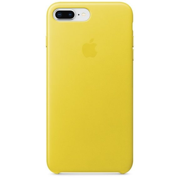 Аксессуар для iPhone Apple Leather Case Spring Yellow (MRGC2) for iPhone 8 Plus/iPhone 7 Plus