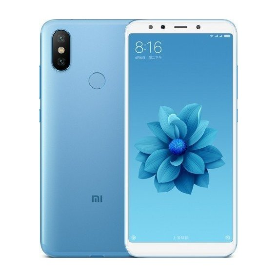 Смартфон Xiaomi Mi A2 4/64GB Blue (Global)