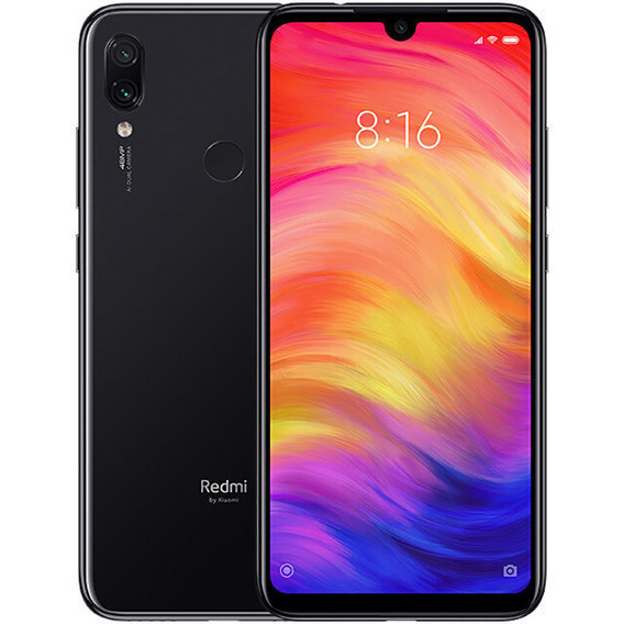 Xiaomi Redmi Note 7 3/32GB Black (Global) (864357041049783)