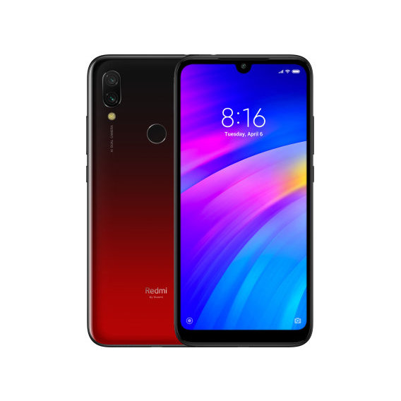 Смартфон Xiaomi Redmi 7 3/32GB Lunar Red (Global)