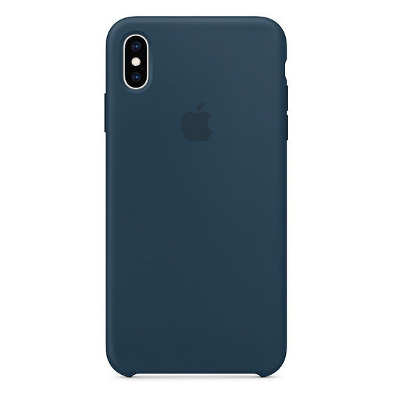 Аксессуар для iPhone Apple Silicone Case Pacific Green (MUJQ2) for iPhone Xs Max