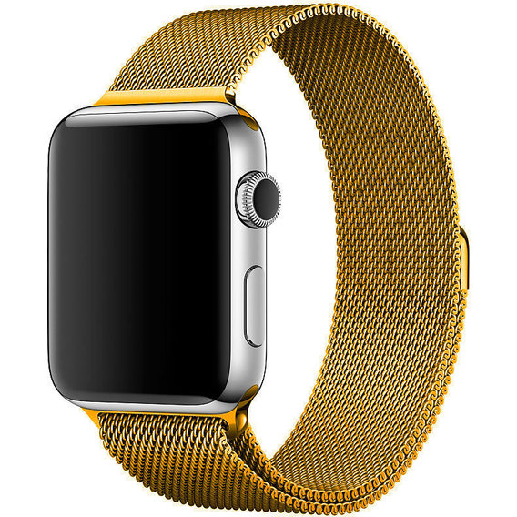 Аксессуар для Watch COTEetCI W6 Magnet Band Gold (WH5203-GD) for Apple Watch 42/44mm