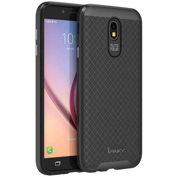 Аксессуар для смартфона iPaky TPU+PC Black/Gray for Samsung J530 Galaxy J5 2017