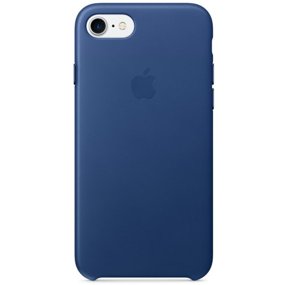 Аксессуар для iPhone Apple Leather Case Sapphire (MPT92) for iPhone 8/iPhone 7
