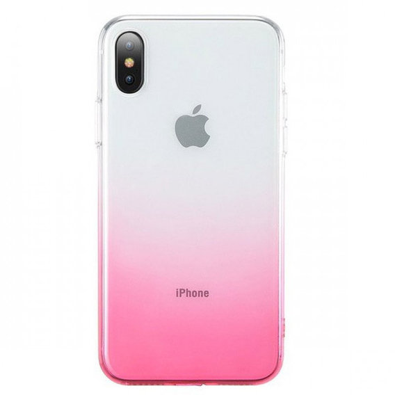 Аксессуар для iPhone TPU Case Ombre Pink for iPhone Xs Max
