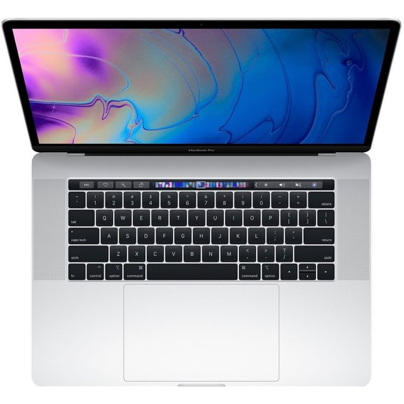 Apple MacBook Pro 15 Retina Silver with Touch Bar Custom (Z0V30004A) 2018