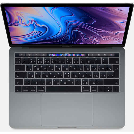 Apple MacBook Pro 13 Retina Space Gray with Touch Bar (MV962) 2019