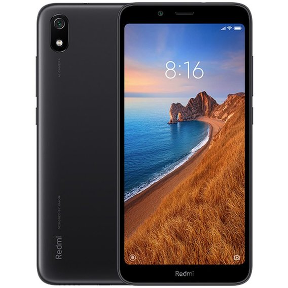 Смартфон Xiaomi Redmi 7A 2/16GB Black (Global)