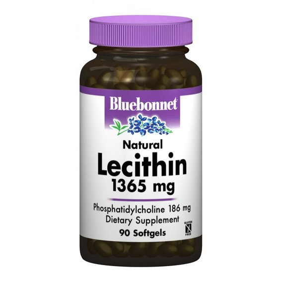 Bluebonnet Nutrition Natural Lecithin 1365 mg 90 caps