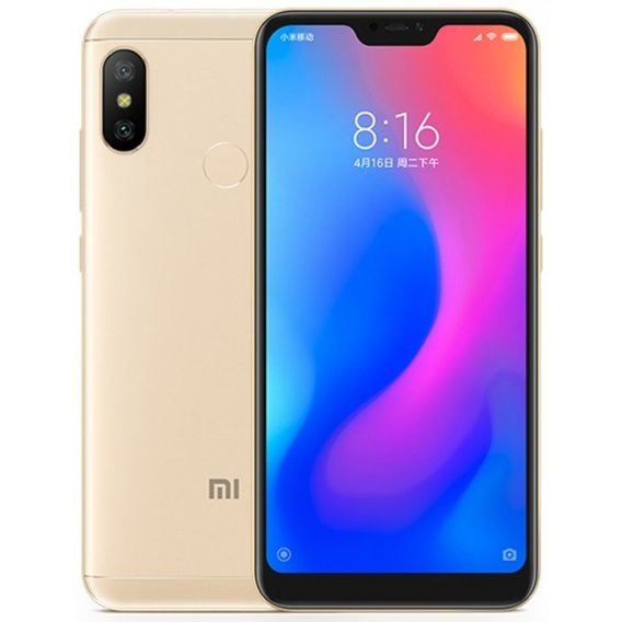 Смартфон Xiaomi Mi A2 Lite 4/64GB Gold (Global)