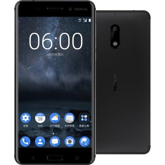 8ba3ed00920ef Смартфон Nokia 6 64GB Dual Black. Купить Смартфон Nokia 6 64GB Dual ...