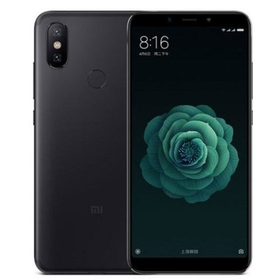 Xiaomi Mi A2 4/32GB Black (Global) (864984041314691)