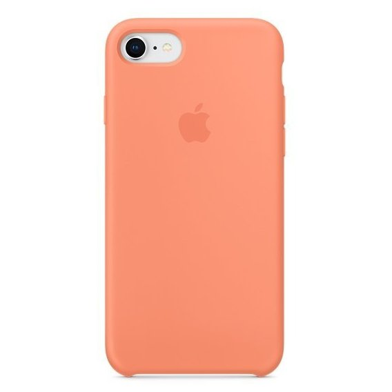 Аксессуар для iPhone Apple Silicone Case Peach (MRR52) for iPhone 8/iPhone 7