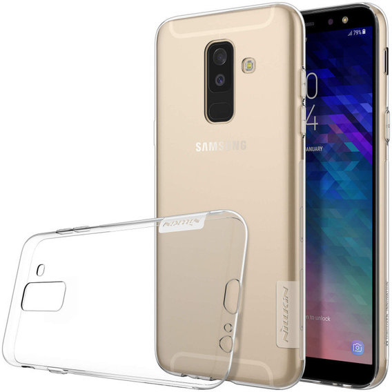 Аксессуар для смартфона Nillkin Nature TPU White for Samsung A605 Galaxy A6 Plus 2018