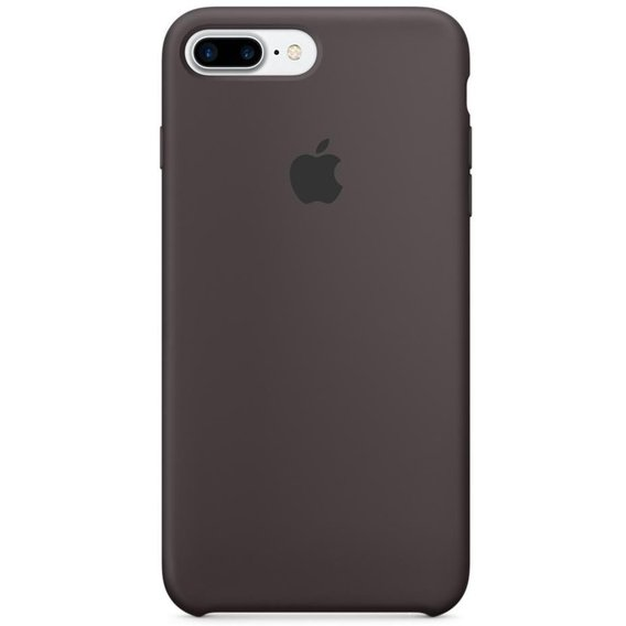 Аксессуар для iPhone Apple Silicone Case Cocoa (MMT12) for iPhone 8 Plus/iPhone 7 Plus