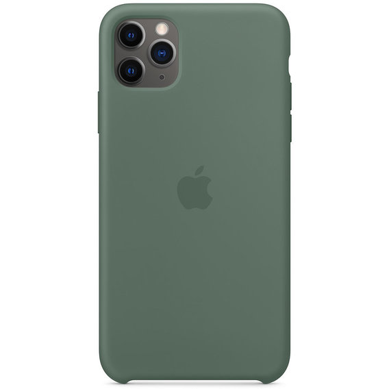Аксессуар для iPhone Apple Silicone Case Pine Green (MX012) for iPhone 11 Pro Max