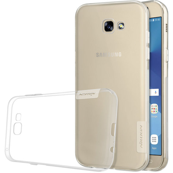 Аксессуар для смартфона Nillkin Nature TPU White for Samsung A720 Galaxy A7 2017
