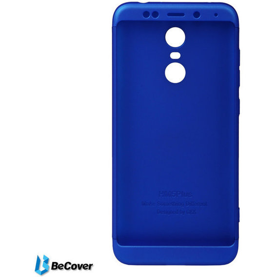 Аксессуар для смартфона BeCover Case 360° Super-protect Deep Blue for Xiaomi Redmi 5 (701878)