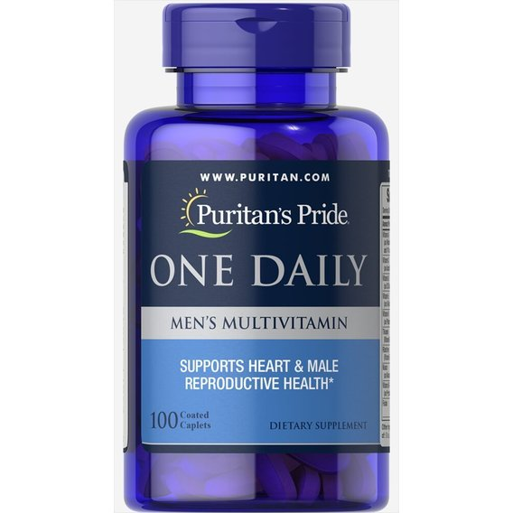 Puritan's Pride One Daily Men's Multivitamin 100 caps