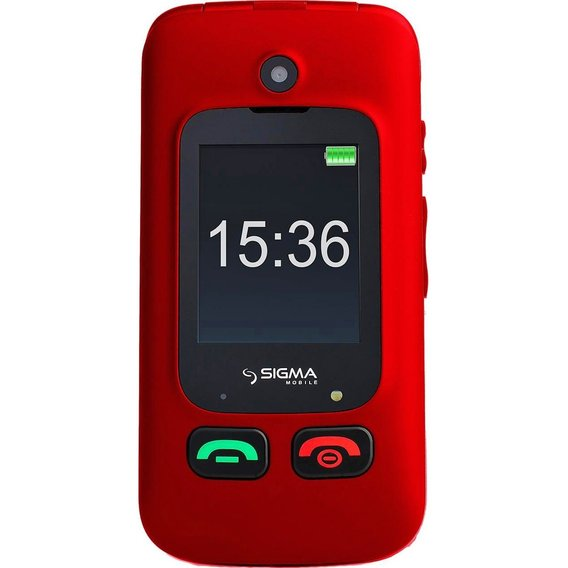 Мобильный телефон Sigma mobile Comfort 50 Shell DUO Black-Red (UA UCRF)