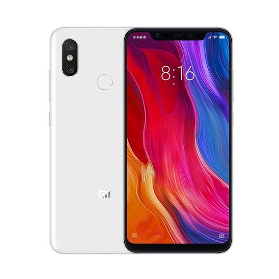 Смартфон Xiaomi Mi8 6/128GB White (Global)