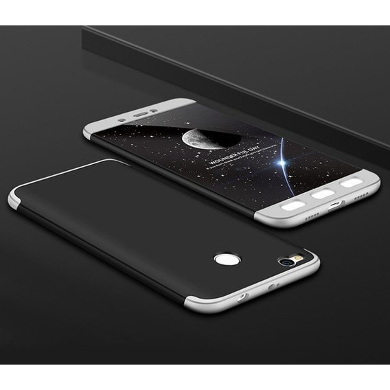 Аксессуар для смартфона LikGus Case 360° Black/Silver for Xiaomi Mi5X / Mi A1